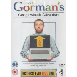 Dave Gorman's Googlewhack Google Whack Adventure Region 2 DVD