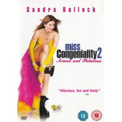 Miss Congeniality 2 Armed And Fabulous Region 2 DVD