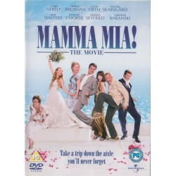 Mamma Mia! The Movie Region 2 DVD