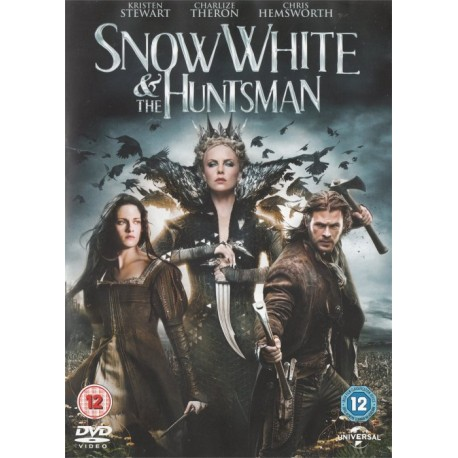 Snow White And The Huntsman Region 2 DVD