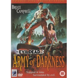 Evil Dead 3 Army Of Darkness Double Disc Edition Region 2 DVD