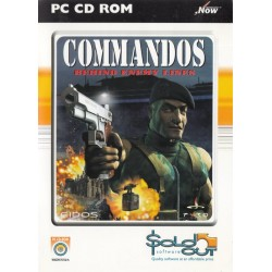 Commandos Behind Enemy Lines PC CD-ROM