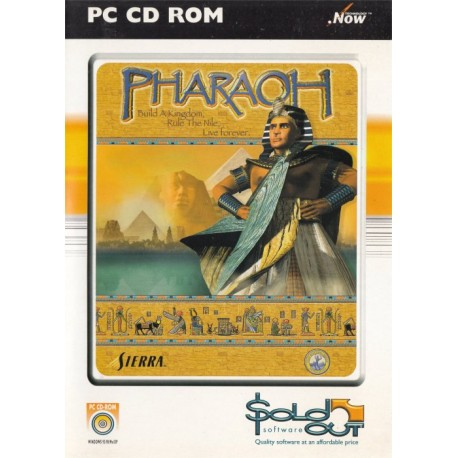 Pharoah PC CD-ROM