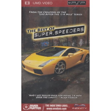 The Best Of The Super Speeders (Sony PSP UMD)