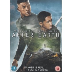 After Earth Region 2 DVD