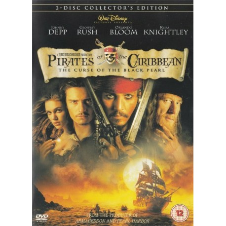 Pirates Of The Caribbean Curse Of The Black Pearl Collector's Edition