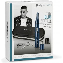 BabyLiss men 5 In 1 Mini Grooming Kit Blue Edition