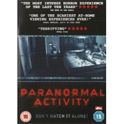 Paranormal Activity Don't Watch It Alone