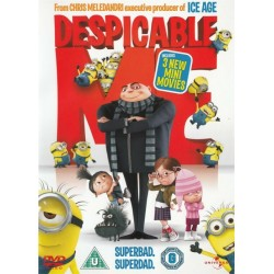 Despicable Me With 3 Mini Movies