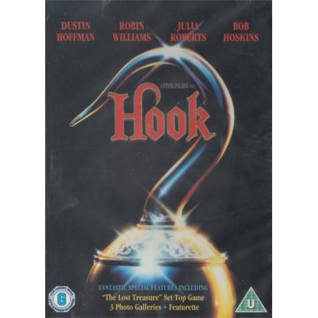 Hook Region 2 DVD