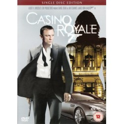 Casino Royale 007 Single Disc Edition Region 2 DVD