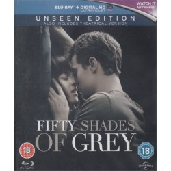 Fifty 50 Shades Of Grey Unseen Edition (Blu-Ray)