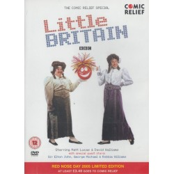 Little Britain Comic Relief Red Nose Day Limited Edition