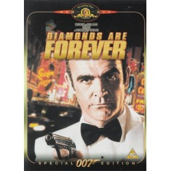 Diamonds Are Forever Special 007 Edition James Bond Region 2 DVD