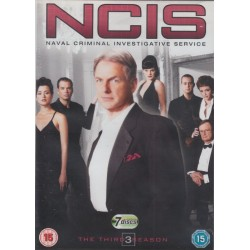 NCIS Naval Criminal Investigative Service Season / Series 3 Region 2 DVD