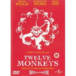 Twelve 12 Monkeys Region 2 DVD