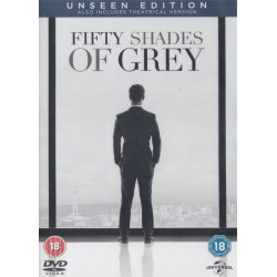 Fifty 50 Shades Of Grey Double Disc Unseen Edition Region 2 DVD