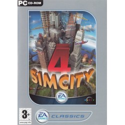 Sim City 4 EA Games Classics PC CD-ROM