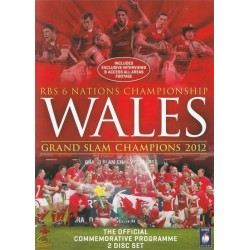 RBS 6 Nations Championship Wales Grand Slam Champions 2012 Region 2 DVD